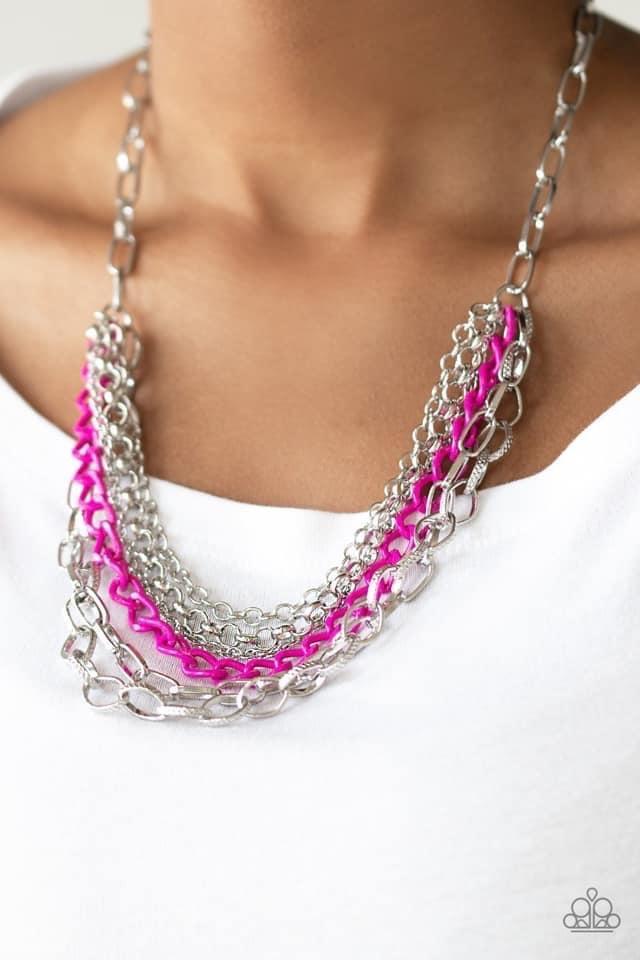 """Color Bomb"" Necklace"