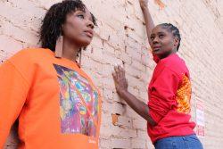 Black Owned Clothing Brand | Melanin Popping | African Print Hoodie | Crop Top Hoodie | Woman Fa ...