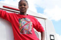 Red Hoodie | Crop Top Hoodie | Crop Top Sweatshirt | Martin Luther King | Black History Month Cl ...
