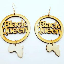 Africa Black Queen Earrings