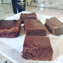 Fudgy Bailey's Brownies