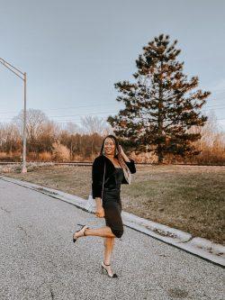 NYE Outfit – Sexy Slip Dress