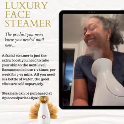 Luxury Face Steamer