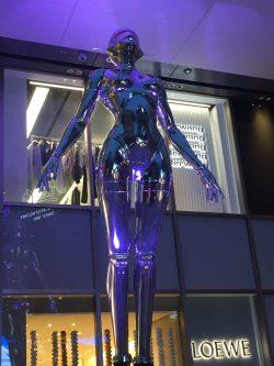 Robot Lady in Shibuya