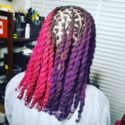 Colored Locs