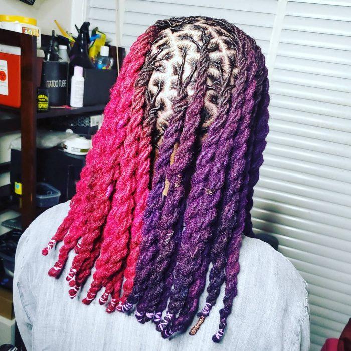Colored Locs