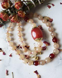 Love letters, Jade Mask Holder/Necklace
