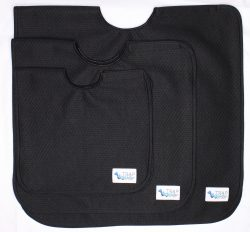 Trapwaters small medium and large waterproof and super absorbent capes.