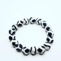 Black and White Tibetan Bracelet