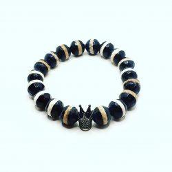 Crowned Tibetan Bracelet
