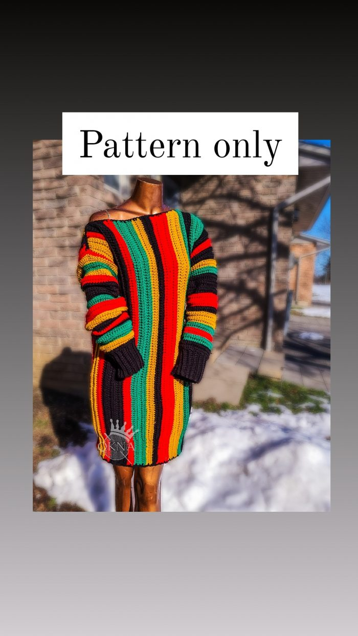 Off-Shoulder Sweater PATTERN ONLY