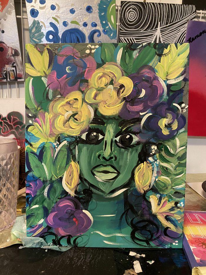 Original Woman in Bloom