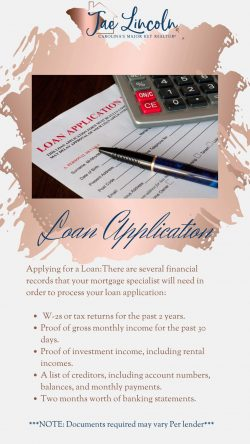 What To Expect When Completing Mortgage Loan Application…