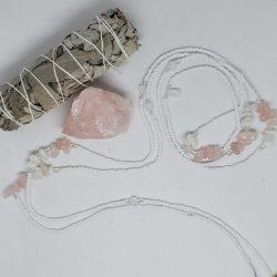 Rose Quartz Waist Beads