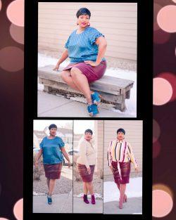 Three versatile looks for one skirt