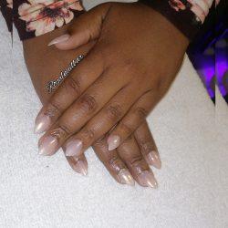Super short nails