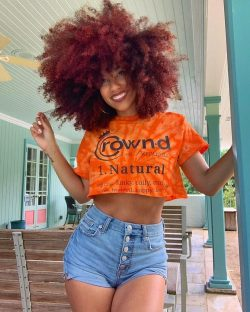 The Crown'd Natural Hair Tee