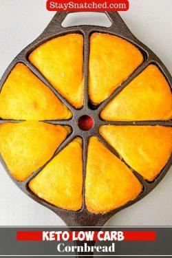 Keto Low-Carb Cornbread