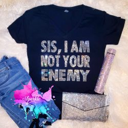 Sis I Am Not Your Enemy Crystallized Tee