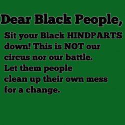 Dear Black People