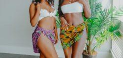 Ankara Print Wrap Skirts