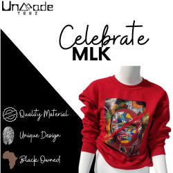 Martin Luther King Jr Sweatshirt | African American Hoodie | Black Culture Hoodie | Afrocentric  ...