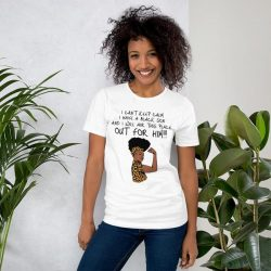 """I Have A Black Son"" Short-Sleeve Unisex T-Shirt"