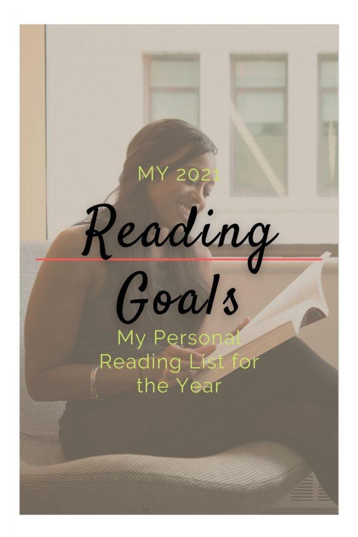 My 2021 Reading List