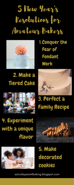 5 New Year's Resolutions for Amateur/Hobby Bakers