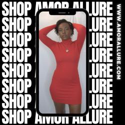 Leave Him on Red (Little red dress) Amor Allure