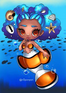 clownfish girl