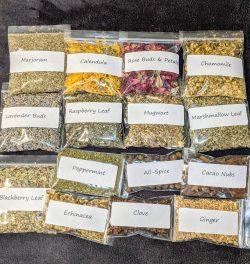 Lunar Goddess Apothecary beginner herb kit.