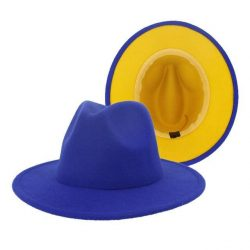 Fedora blue /yellow bottom