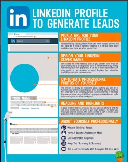 Linkedin Profile to Generate Leads