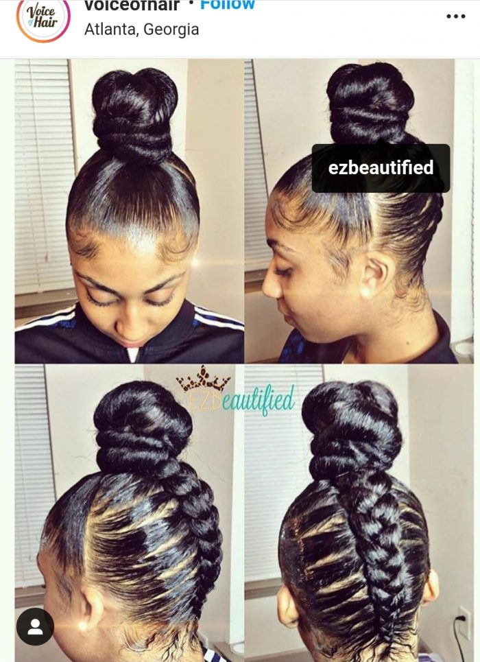 Braided Up-do 🥰