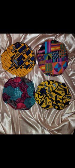 Reversible satin lined hamdmade bonnets