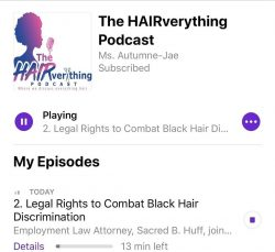 Legal Rights to Combat Black Hair Discrimination