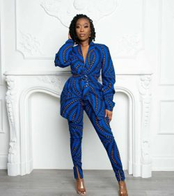 Ankara outfit inspiration Boss lady