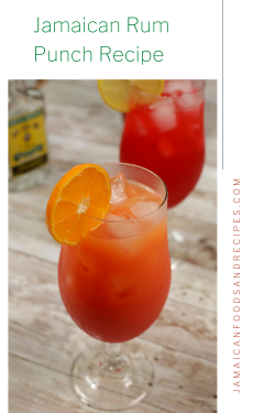 Jamaican Rum Punch Recipe