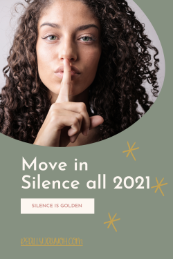 NEW BLOG POSTS: What does it mean to move in silence and why it is important