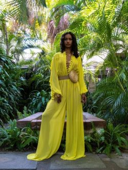 Lemon-Lime jumpsuit 🍋🌴