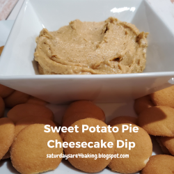 Sweet Potato Pie Cheesecake Dip