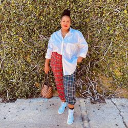 Plaid Joggers – for the Curvy Gals!