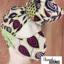 Ankara Headwrap and Mask| African print Headwrap and Madk set