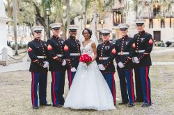 Bride, Groom, Groomsmen, and Ushers