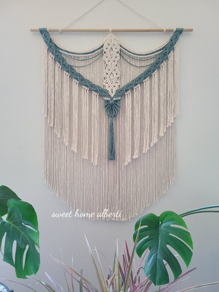 Macrame Wall hanging by Sweet Home Alberti