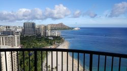 Hawaii view of diamond head