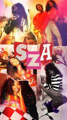 SZA collage/wallpaper