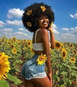 #MagicalAfro #SunflowerChild #DON'TTOUCHMYHAIR