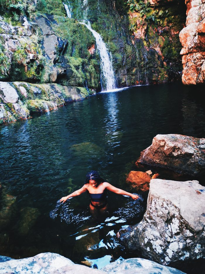Waterfall hiking trails in South Africa